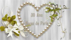 30-Coeur de perles