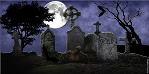 20-Halloween - Cimetière