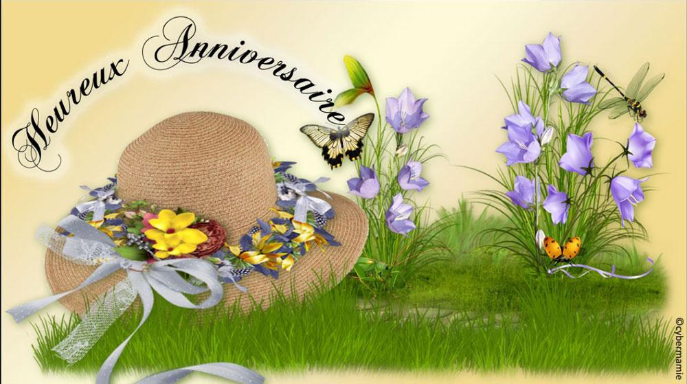 08 - Chapeau fleuri