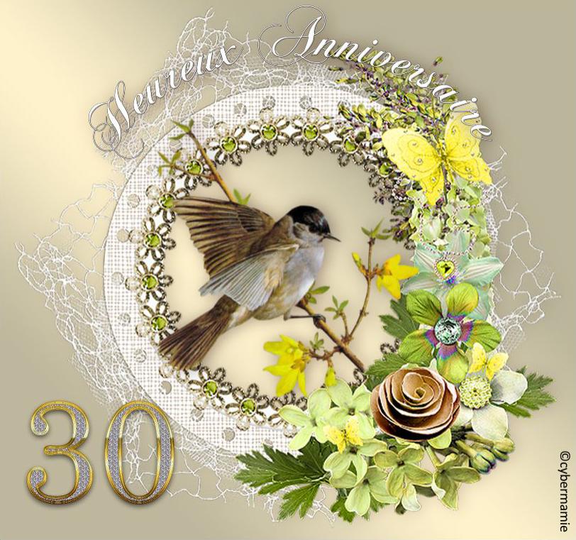 30 - Fleuri or