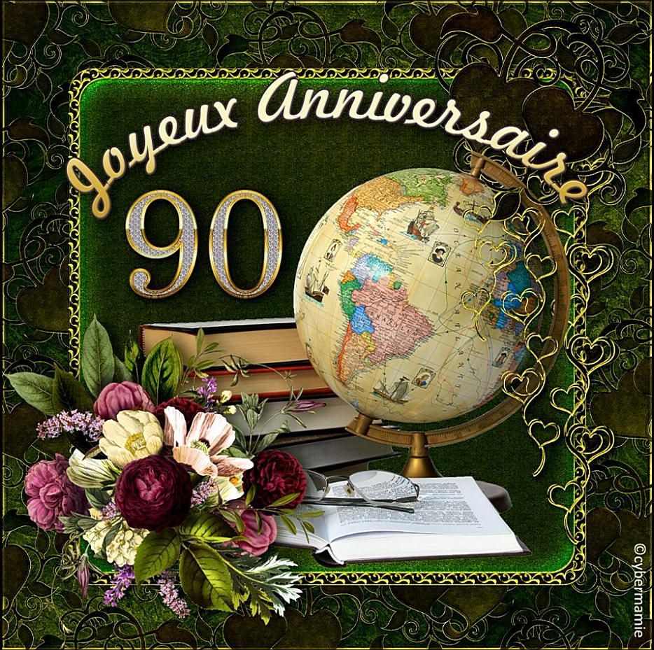 90 - Mappemonde