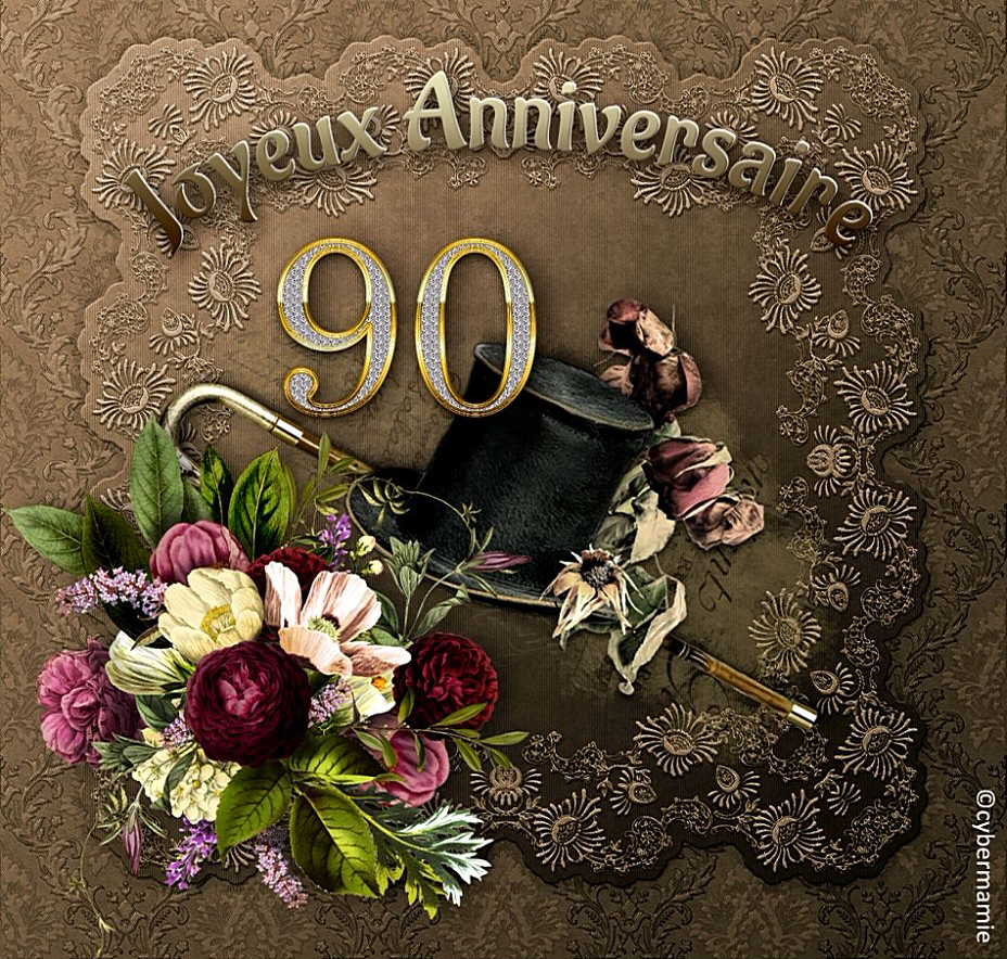 90 - Chapeau et canne
