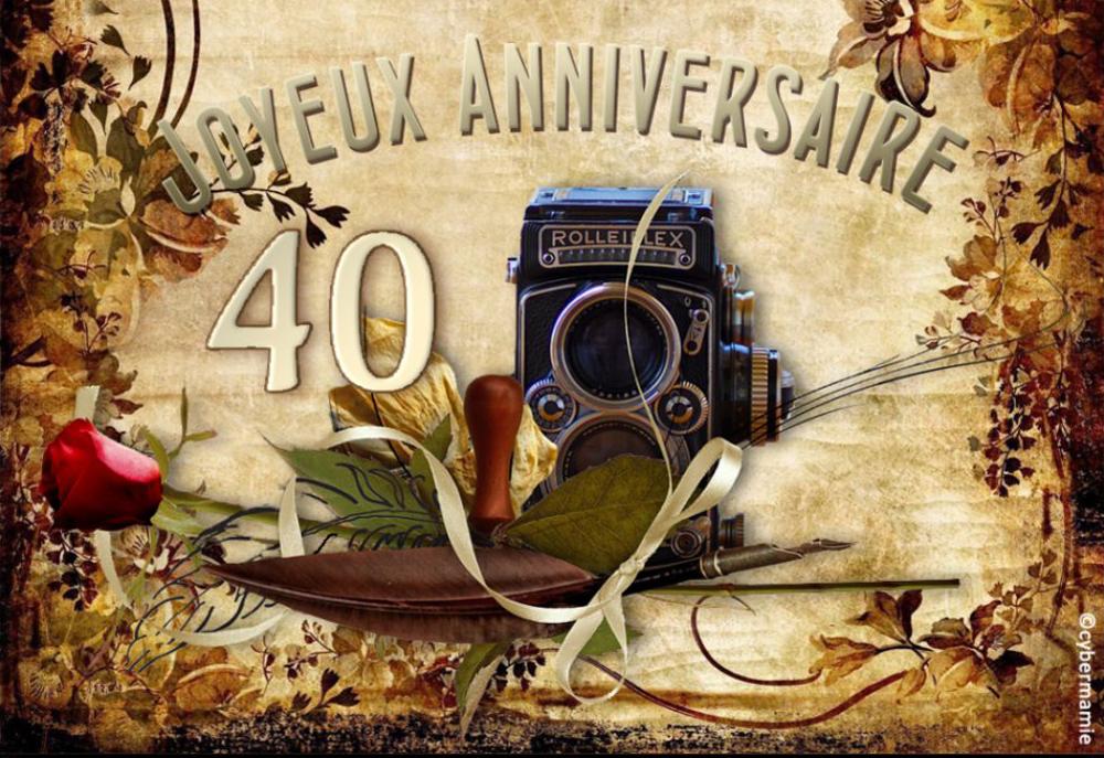 40 - Photographe