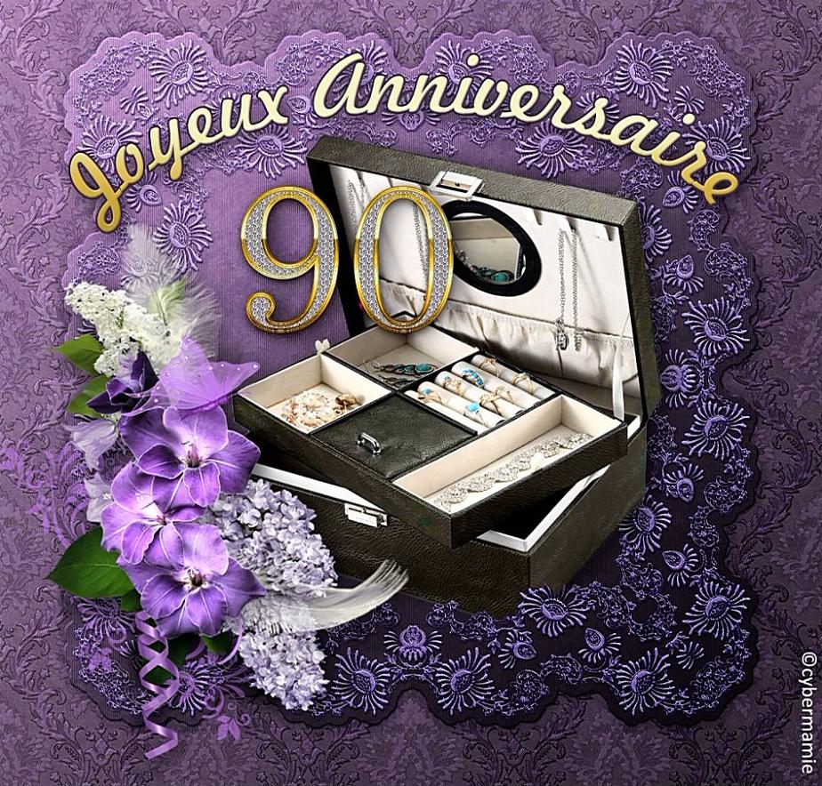 90 - Coffret bijoux (violet)