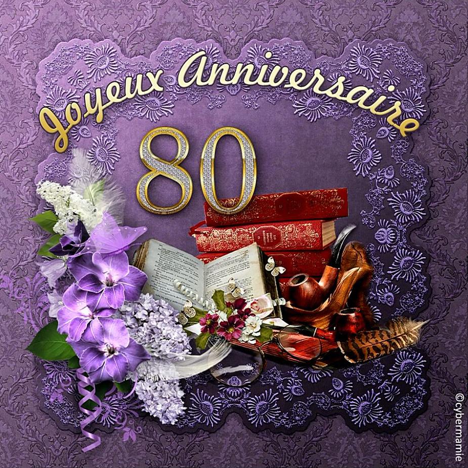80 - Livres (violet)