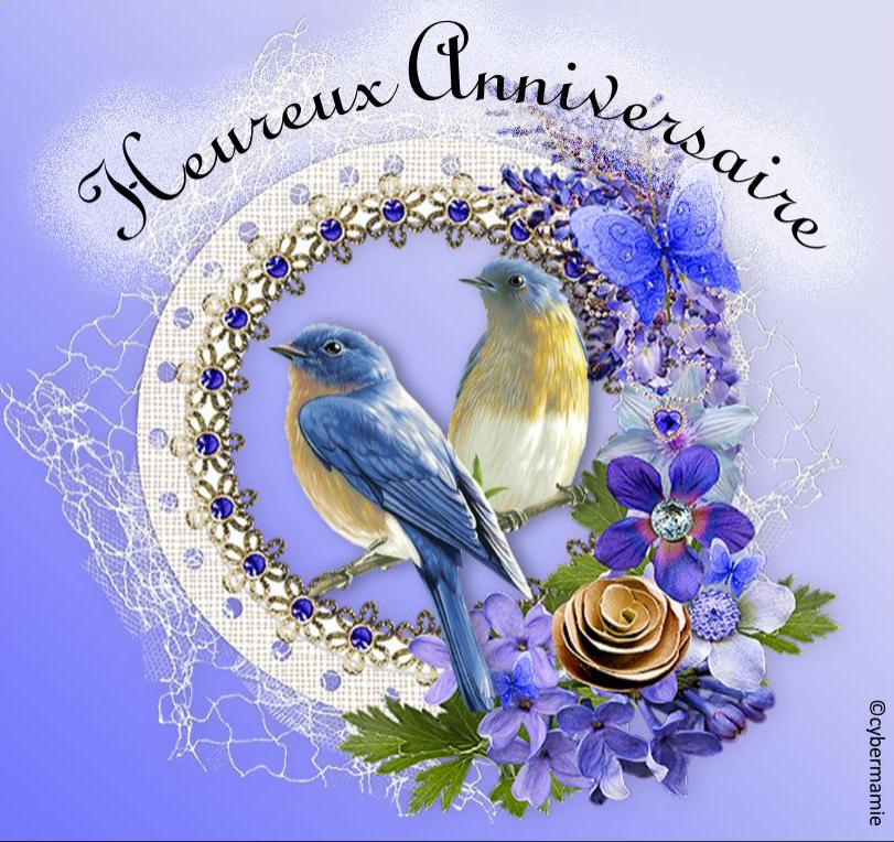 10 - Fleuri bleu