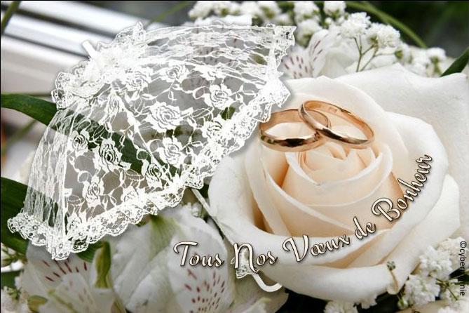 Cartes Virtuelles Animees Gratuites Mariage Voeux De Bonheur Felicitations