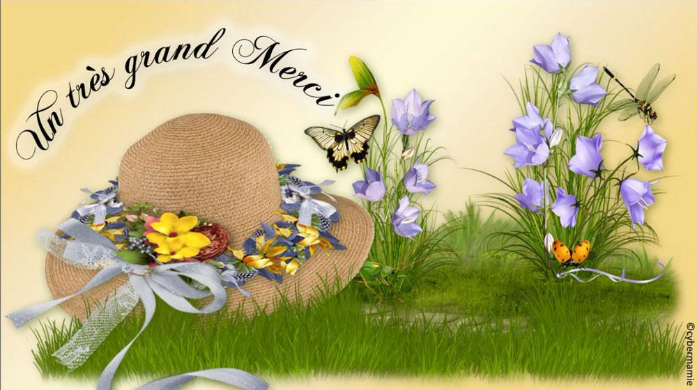 11 - Chapeau fleuri