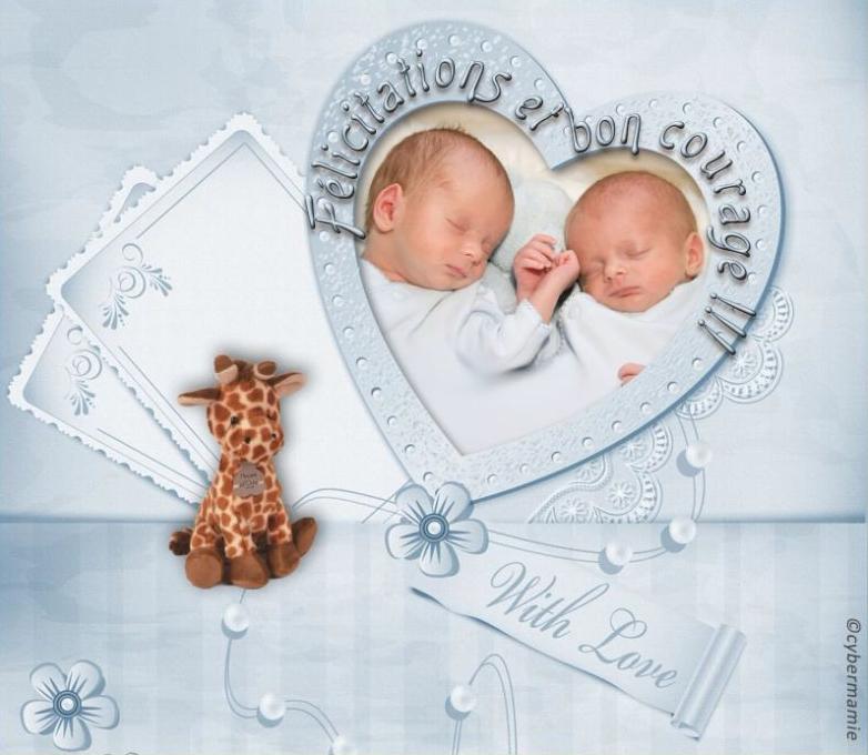 11 - Jumeaux garçons