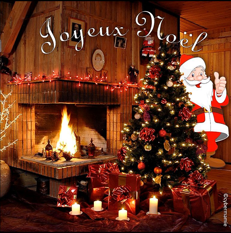 11 - Père Noël sapin