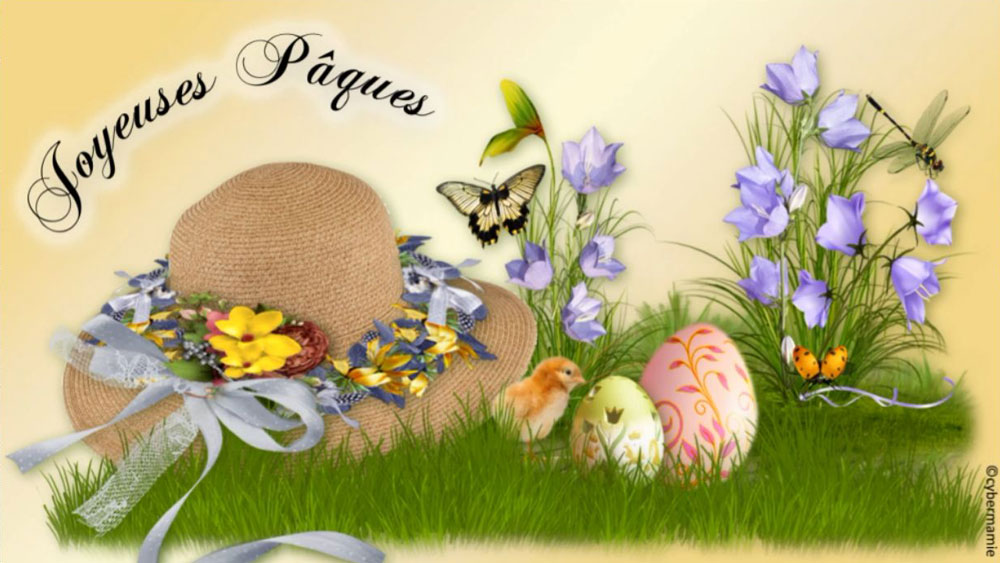10 - Chapeau fleuri